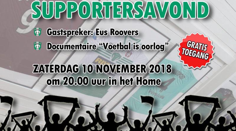 Supporters van FC Dordrecht vieren altijd feest