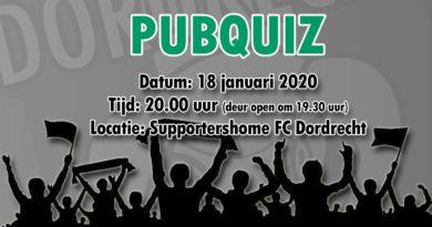 FC Dordrecht Pubquiz, de derde helft!